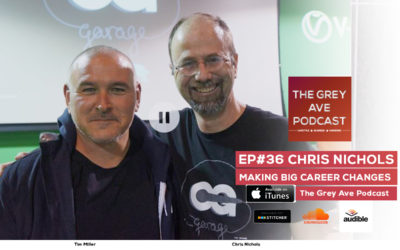 EP#36 CHRIS NICHOLS(CHAOS GROUP) – MAKING BIG CAREER CHANGES